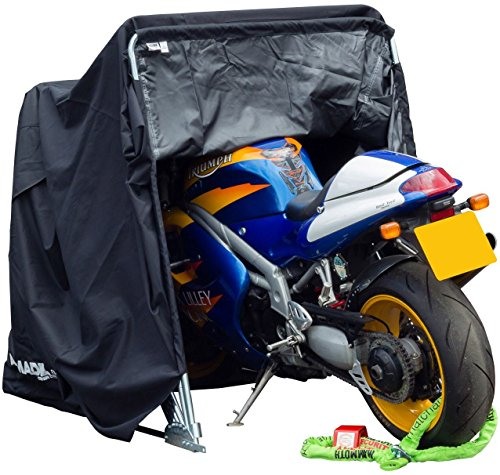 Motorradgarage Faltgarage Klappgarage Garage für Motorrad Motorroller Fahrrad