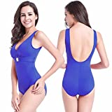 SHISHANG La signora del bikini più fertilizzanti per aumentare il bikini vestiti costume da bagno caldo a vita alta in Europa morbido e flessibile , blue , xxl
