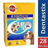 Pedigree Dentastix (Value Pack), Oral Care Dog Treat for Adult Medium Breed (10-25kg) Dogs – 720g Monthly Pack (28 Sticks)
