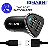 Kimashi 3.1 Amp Dual Usb Port Car Charger - Best Reviews Guide