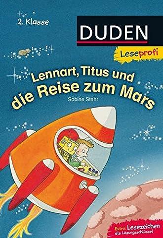 Leseprofi – Lennart, Titus und die Reise zum Mars, 2. Klasse