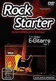 Rockstarter Vol. 1 - E-Gitarre: Die Lehr-DVD-Serie für Einsteiger! Gitarrenschule. Unterricht für Anfänger. Training. School Of Rock.