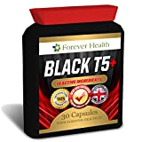T5 Black EXTREME Specially Formulated for Super Fast Weight Loss and Boost Metabolism - Lose Up 6 KILOS In 8 Weeks ! 30 Tablets - FREE UK DELIVERY + FREE Diet Plan - Lose Weight And Slim Fast With These SUPER STRONG Slimming Pills ! Contains GREEN TEA EXT