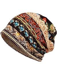 Boboder Sombrero de la quimica del sombrero de la raya del sombrero de las  mujeres Sombrero 1dfef9a4075