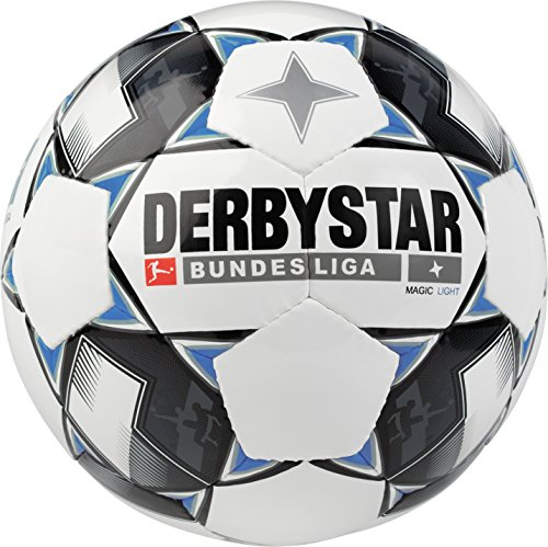 Derbystar Bundesliga Magic Light, 5, weiß schwarz blau, 1861500126