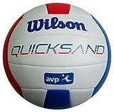 Wilson Beachvolleyball Quicksand II, weiß rot blau