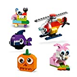 LEGO 11003 Classic Bricks and Eyes with Wheels Construction Set for Kids 4+ Years Old, Creative Building Ideas Young Builders (451 Pieces)
