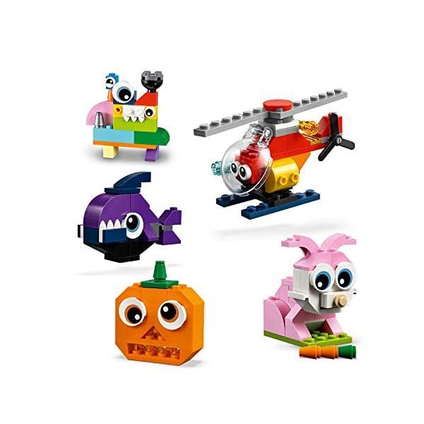 LEGO Classic 11003 Mattoncini e Occhi Set di Costruzioni Creativo, Regalo per Bambini +4 Anni 2 spesavip
