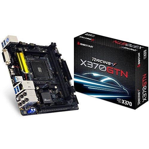 Biostar x370gtn AMD X370Socket AM4Mainboard–Mainboards (ddr4-sdram, DIMM, 1866,2133,2400,2667,2933,3200MHz, Dual, 32GB, AMD) (Socket Biostar)