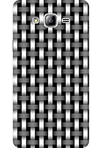 AMEZ designer printed 3d premium high quality back case cover for Samsung Galaxy On7 (metal)