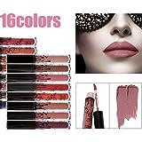 16 Farben wasserdicht langlebig Matte Liquid Lipstick Schönheit Lippe Gloss