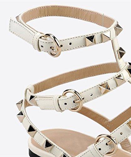 Amy Q - Strap alla caviglia donna White