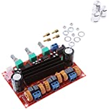 Magideal TPA3116D2 100W Channel Digital Power Audio Stereo Amplifier Board and DC 12-24V Car Stereo AMP Module for Audio System with Volume Knob