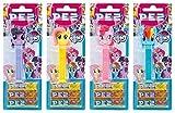 PEZ Spender Set My Little Pony (4 Spender mit je 3 PEZ Bonbons á 8,5g) + 2 Nachfüllpacks (8 PEZ Bonbons á 8,5g)