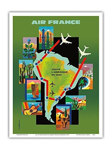 tout-lamerique-du-sud-air-france-affiche-ancienne-vintage-companie-aerienne-poster-aviation-by-jacqu