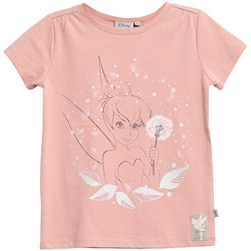 Wheat Mädchen T-Shirt Tinker Dust, Rosa (Misty Rose 2270), 110 (Herstellergröße: 5y) (Bell T-shirt Mädchen)