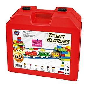 """Game Movil """"Combis - Bloque de construcción con Tren eléctrico (65 Piezas, Multicolor)"""