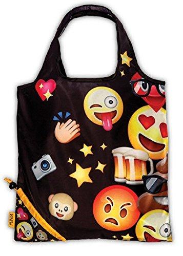 Einkaufstasche ,Tasche , Shopper - Smiley - verschiedene Motive (bunt mit Bier) - Mickeys Bier