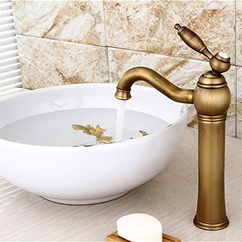 Robinet antique/tournant simple trou renforcement laiton/Dragon eau bassin/modèles d'explosion