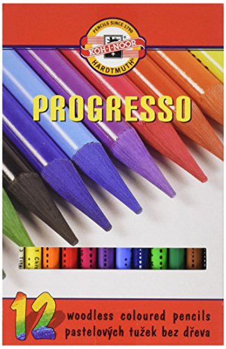 koh-i-noor-progresso-woodless-coloured-pencil-set-set-of-12