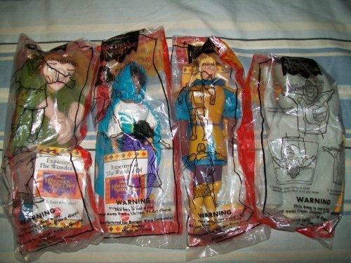 set-of-4-1996-hunchback-of-notre-dame-9-premium-burger-king-dolls-by-burger-king
