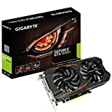 GIGABYTE NVIDIA GeForce GTX 1050 Ti WINDFORCE OC 4 G 4 GB di memoria GDDR5 128 Bit scheda grafica PCI Express 3 HDMI/DP/DVI, Nero
