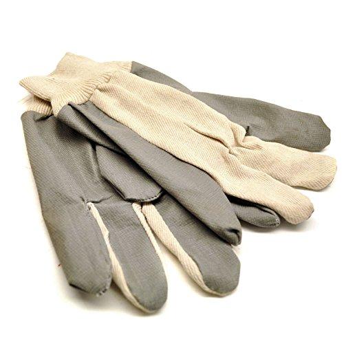 Jardin polyvalent/cuir des gants de travail en coton léger palm GAR29