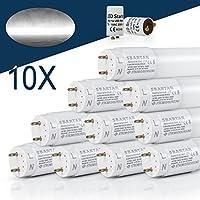 [10er PACK zum Sparpreis] SBARTAR LED Leuchtstoffröhre 150cm Kaltweiß 6500K 22W - Neonröhre 54 Watt - Ersatz für T8 Rasterleuchte Bürolampe Deckenleuchte / Leuchtstofflampe - 2500lm - inkl. Starter - 270° Abstrahlwinkel