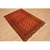 """ETFA Teppiche Orientteppich """"Tekke Turkmene"""" Wollteppich 169x117 cm"""