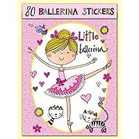 Rachel Ellen Ballerina Stickers x 80 Stickers