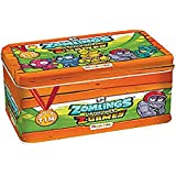 Zomlings Serie 4 Lata Metalica Caja Tin Z Games Ultima Generacion