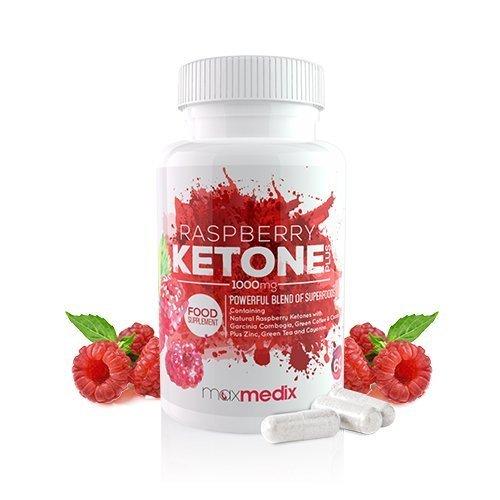 Raspberry Ketone Plus Kapseln – Intensive Mischung Von Himbeerketon Mit Weiteren Superfoods Zum Abnehmen – Mit Natürlichen Extrakten Von Grünem Kaffee, Garcinia Cambogia Und Grünem Tee