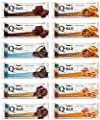 Protein Bars Low Carb Q-Bar Supplify 12 Pack by Supplify
