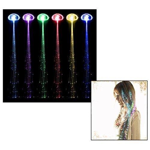 er Light-up Haar Barrette Multicolor zubehör Haar Clip multicolor Flash Haarspangen Clip (12 Stück) ()
