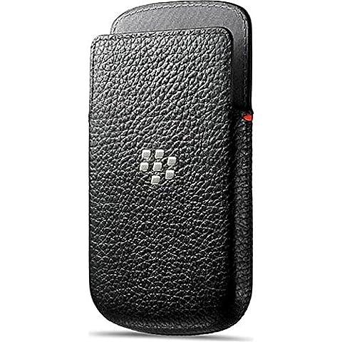 Blackberry ACC_50704_201 Etui en cuir pour Blackberry Q10 Noir