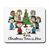 CafePress–The Peanuts Gang: Weihnachten ist hier–rutschfeste Gummi Mauspad, Gaming Maus Pad
