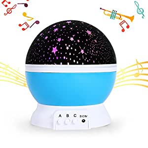 Baby Musical Starry Night Light Slowton 2017 New