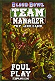 Blood Bowl Team Manager Card Game: Foul Play Expansion
