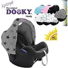 Original dooky Hoody–* * Style UV + * * universal Capota/techo para Maxi Cosi Cabrio/cabriofix/Pebble/Citi, Römer y otros sillitas Grupo 0+ como protección solar/Wind Protección/Sol techo/sonn