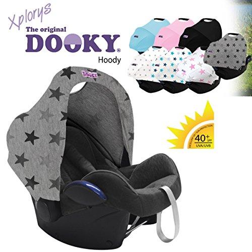 Original dooky hoody * * style uv + * * universale estensibile/tetto per maxi cosi cabrio/cabriofix/pebble/citi, romani e altre shell baby gruppo 0+ per la protezione solare/??/parasole/sonn