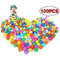 Preisvergleich für 100 Stücke Kunststoff Ozean Bälle Weiche Ozean Kunststoff Ball Baby Kind Schwimmen Kinder Schwimmen Pit Spaß Spielzeug-Bunte