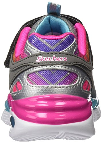 Skechers Air Appeal Airbeam, Sneakers Basses Fille Gris (Gymt)