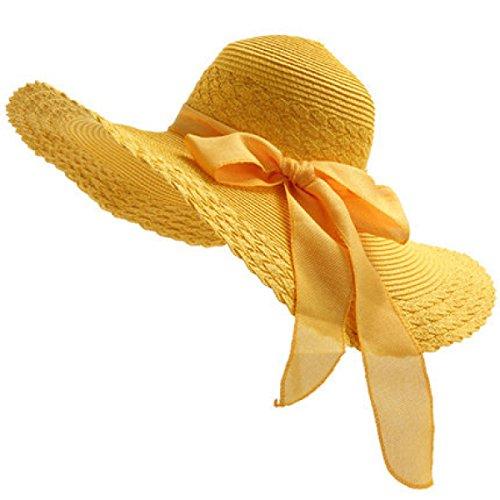 CHT Signora Cappello Da Sole All'aperto UV Grande Cappello A