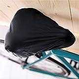 Techsmile wasserdichter Fahrradsattelbezug mit Gummizug, regen- und schmutzabweisend