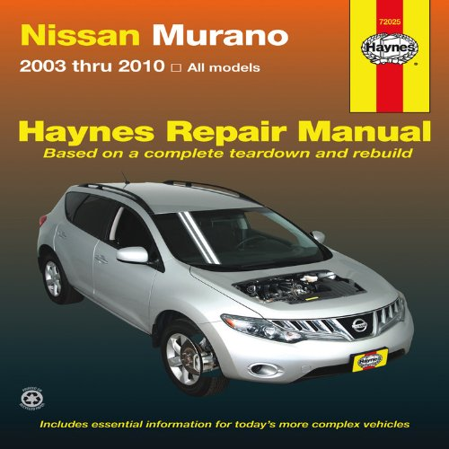 nissan-murano-service-and-repair-manual-2003-to-2010-haynes-service-and-repair-manuals