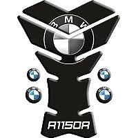 Motoking tanque pad compatible ETIQUETAS 3D-ETIQUETA '' BMW R1150R NEGRO mod York''- tanque de la motocicleta y la protección de la pintura universal
