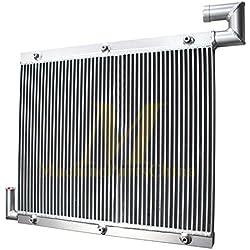 FidgetGear AT154977 Refroidisseur d'huile hydraulique en Aluminium pour Pelle John Deere 490E par Fedex