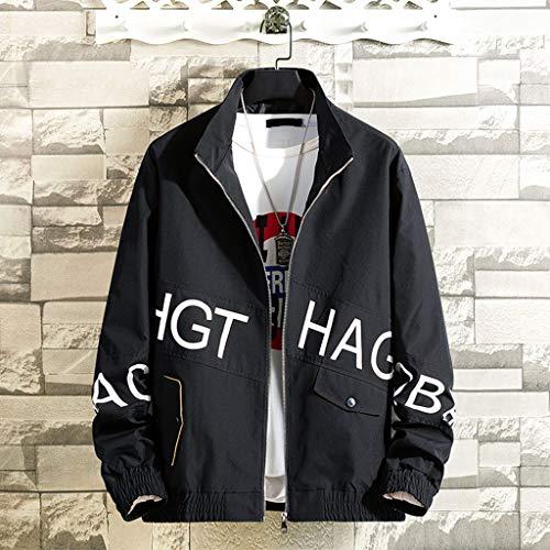 TianranRT Herren Mantel,Herren New Fashion Herbst Winter Langarm Outwear Tops Bluse Lose Jacke Wind - Aviator Womens Kostüm