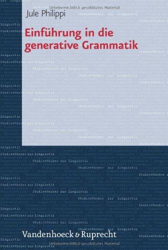 Einführung in die generative Grammatik