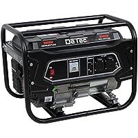 DeTec. Benzin Generator - Stromerzeuger - 3,3KW / 3300W 230V Notstrom Aggregat